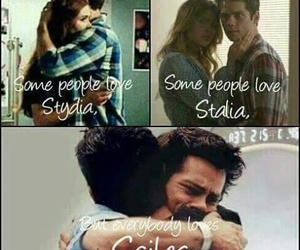 sciles, stalia, and teen wolf image