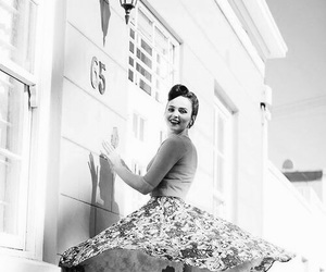 fifties, girl, and hairstyle image
