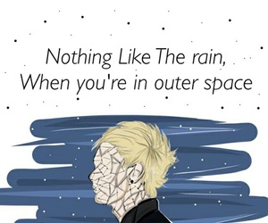 outer space and 5sos image