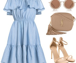 dress, Polyvore, and girly image