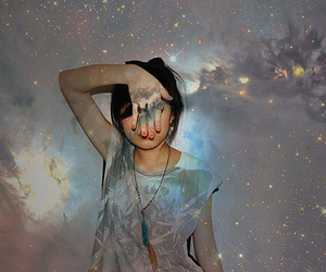 girl and stars image