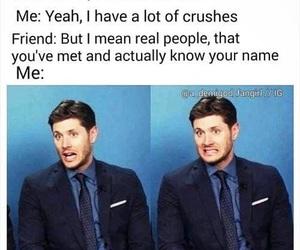 crush, supernatural, and funny image