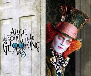 disney, johnny depp, and mad hatter image