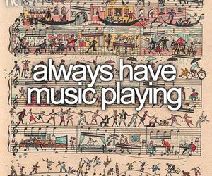 music, always, and playing image