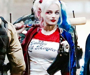 batman, joker, and harley quinn image