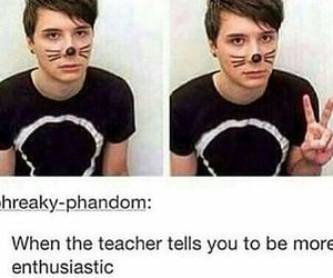 tumblr, danisnotonfire, and dan howell image