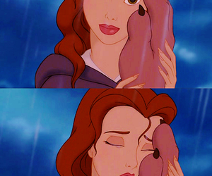 love, beauty and the beast, and disney image