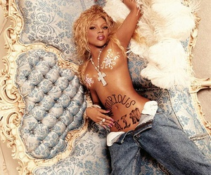90's, Lil Kim, and hip-hop image