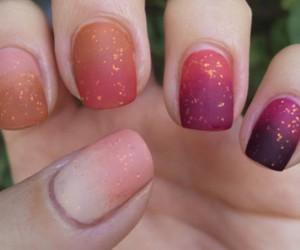 fashion, glitter, and lacquer image