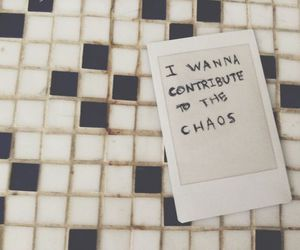 chaos, aesthetic, and grunge image