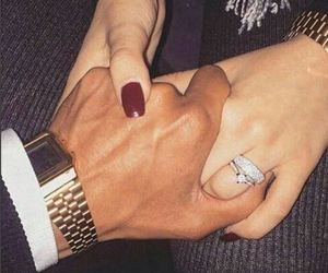 engagement, goals, and holding hands image