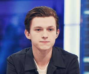 tom holland and Marvel image