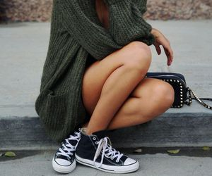 fashion, converse, and fit image