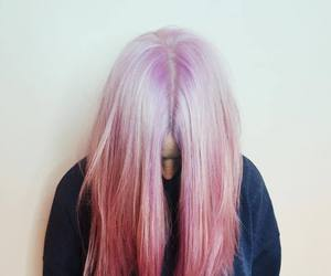 pink, hair, and gemma styles image