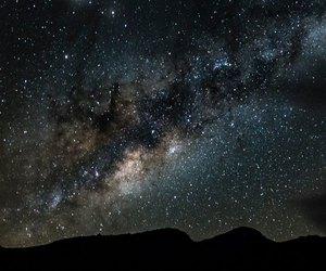 dark sky, stars, and milky way image
