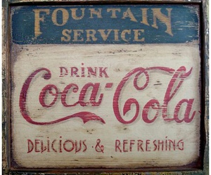 classic, vintage, and coca cola image