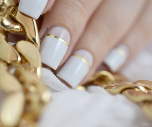 elegant, manicure, and nails image