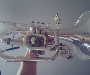 band, french, and horn image