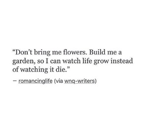 quotes, garden, and love image