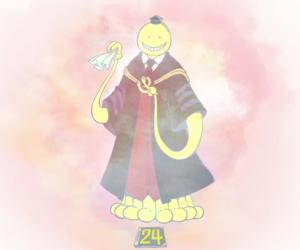 anime, korosensei, and assassination classroom image