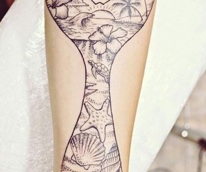 tattoo and mermaid image