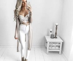 fashion, hair, and girly image