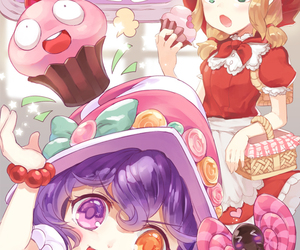 annie, lulu, and league of legends image