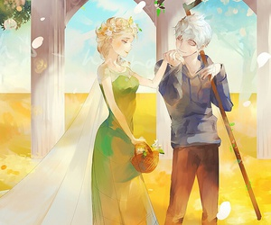 jelsa and jack frost image