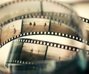 boy, film strip, and style image