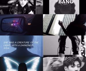 bad girl, bang, and dark image