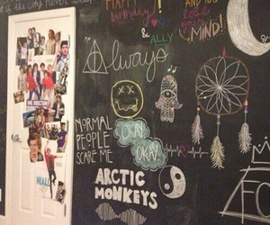room, one direction, and grunge image