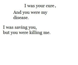 love, quotes, and cure image