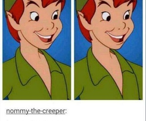funny and peter pan image