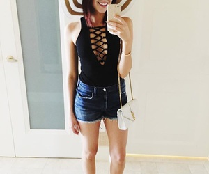 beautiful, floppy hat, and lookbook image