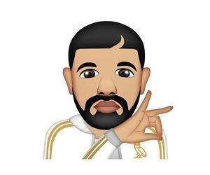 Drake and emoji image