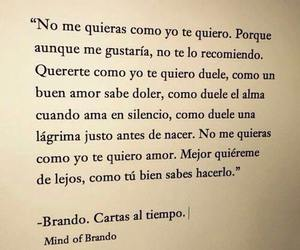 love, frases, and desamor image