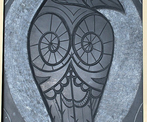 etsy, stone carving, and raven carving image