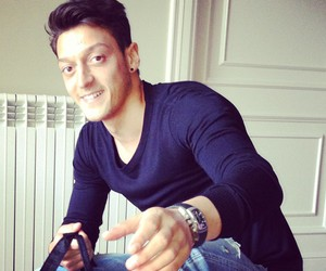 mesut Özil, football, and Hot image
