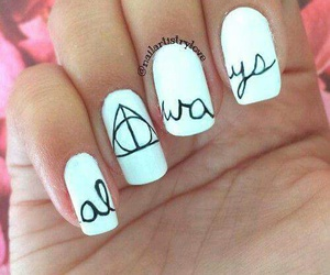 harry potter, nails, and always image