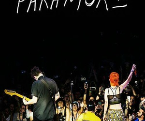 hayley williams, taylor york, and live image