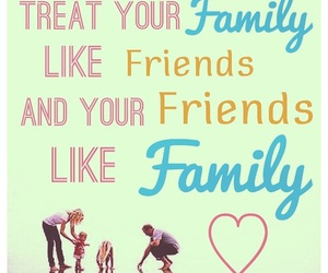 family, friendship, and friends image