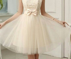 beauty, white, and bow image
