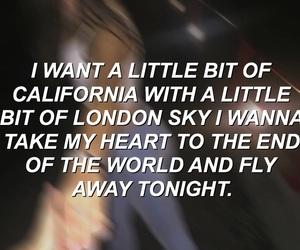 light blur, song lyrics, and 5 seconds of summer image