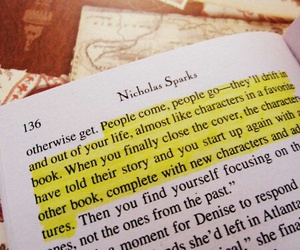 book, quote, and nicholas sparks image