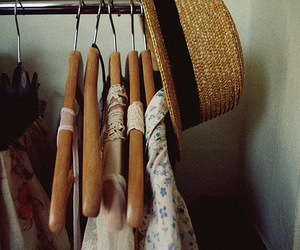 clothes, vintage, and hat image