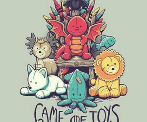 game of thrones, stark, and toys image
