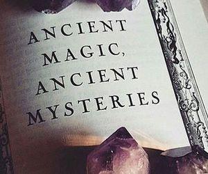 ancient, book, and magic image