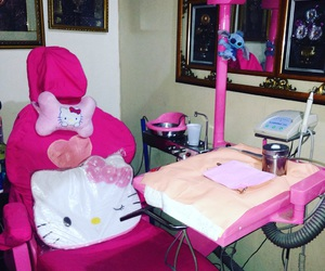 dentist, love pink, and pink lover image