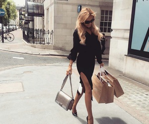 chanel, hair, and shopping image