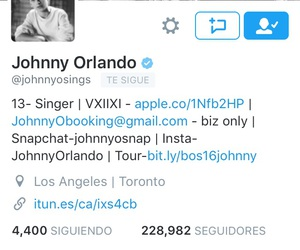 johnny orlando, @bieberoizanski, and - my twitter image